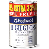 Fleetwood Traditional High Gloss Paint - 750ml + 33% Extra Free
