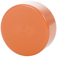 Wavin U Drain PVC Sewer Pipe End Cap - 110mm