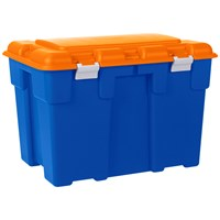 Allibert  Explorer Extra Large Storage Trunk 185 Litre - Blue