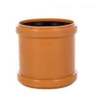Wavin U Drain PVC Sewer Pipe Coupler - 110mm