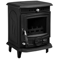 Blacksmith  Harness 4.7kW Non Boiler Stove - Matt Black